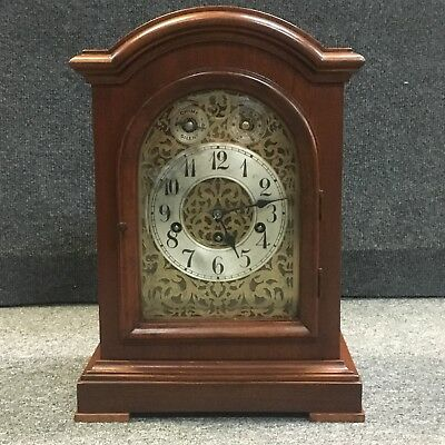"ANTIQUE 1890's JUNGHANS ""ASTOR"" 1/4 HOUR WESTMINSTER CHIME MANTLE CLOCK"