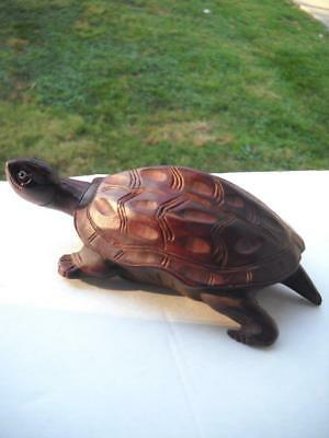 "Good Looking 6"" Long Resin Turtle - Great For Fish Tank, Flower Garden Or Shelf"
