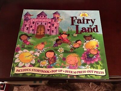 Make your own Fairy Land pop up book