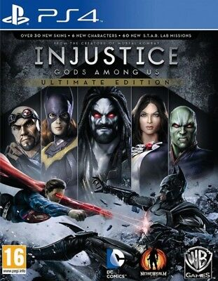 Injustice Gods Among Us Ultimate Edition PS4 * NEW SEALED PAL *
