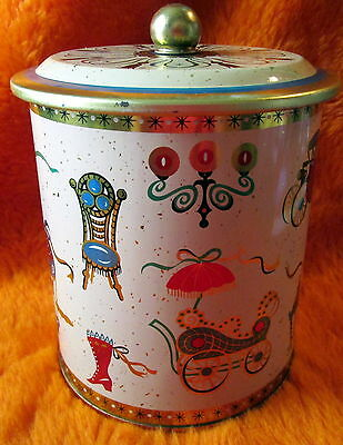 Vintage Copper Tobacco Can Tin Maybe Humidor Style Early 1900's Part of Estate