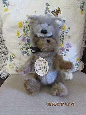 Boyds Bears   Matthew H. Bear as  (The Wolf) Style # 9229  The Boyds Collection