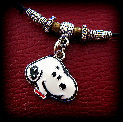 "SNOOPY the Dog Pendant Necklace - ""Peanuts"" Jewelry Charlie Brown's Beagle Puppy"