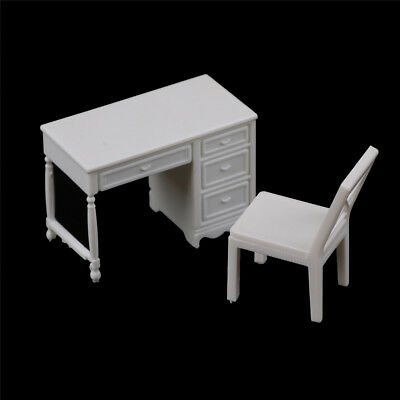 Dollhouse Miniature Furniture Desk+Chair Model landscape Sand Table Model Toy