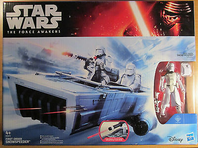 *star Wars*first Order Snowspeeder + Snowtrooper Officer Figur*neu*ovp*top*
