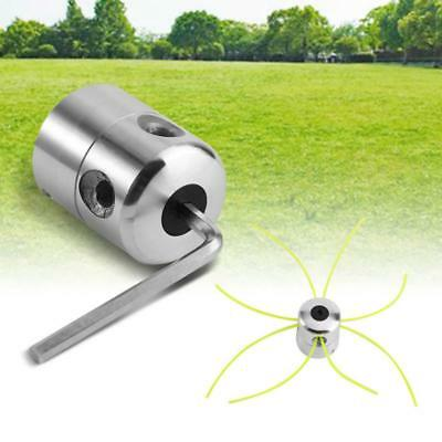 Strimmer Head String Trimmer Head Bobbin Set For Grass Cutter Gasoline Aluminium