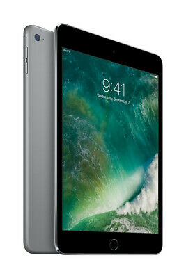 "Apple iPad Mini 4 7.9"" Tablet 128GB Wi-Fi - Space Gray (MK9N2LL/A)"