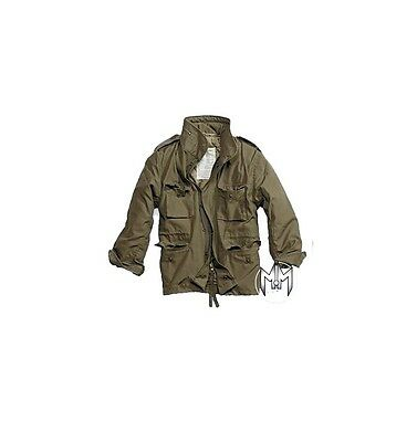 Classic Army M65 Combat Field Jacket Militare Patrol Stile Hombres Coat Olive S