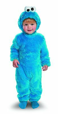 OpenBox Sesame Street Light Up Cookie Monster Toddler Costume, 2T