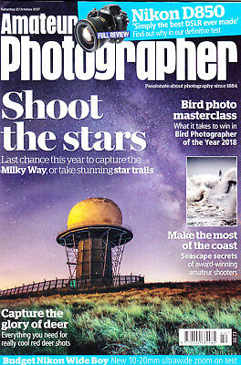 AP magazine with Nikon D850 & Nikkor 10-20mm F4.5-5.6 G VR  tested  21 Oct  2017