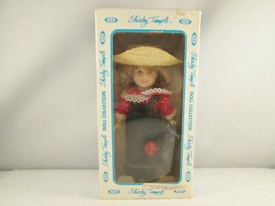 "Ideal Shirley Temple Collector's Doll Series- 8"" Farmer Girl - 1983"