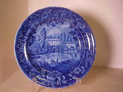 C.1820 French Views Enoch Wood & Sons Historical Plate