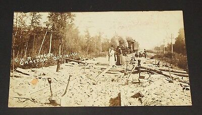 1911 CANADIAN NORTHERN ACCIDENT, GRAFTON (Northumberland Co.) Ont., Herington PC