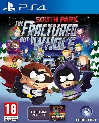 South Park The Fractured But Whole & Stick Of Truth DLC PS4 * NEW SEALED PAL *