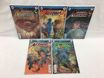 DC Action Comics #987-991 (The OZ Effect #1-5) FREE MEDIA MAIL SHIPPING
