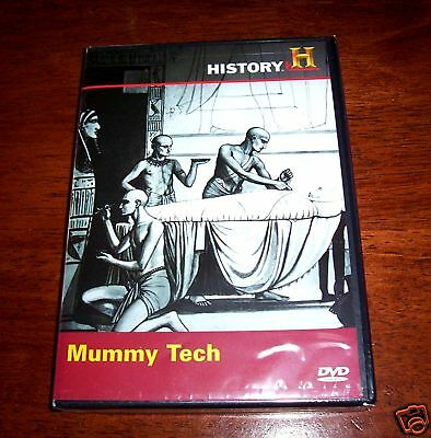 Ancient EGYPT Empire Mummies Mummy Egyptian Burial Tombs History Channel DVD NEW