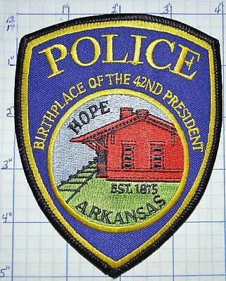 Arkansas, Hope Police Dept Patch