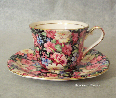 Royal Winton Chintz, Florence Tea Cup & Saucer(s), English Earthenware, new