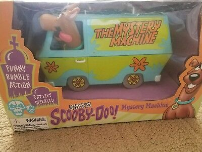 1998 Scooby Doo Mystery Machine Battery Operated Funny Rumble Action