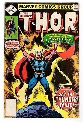 The Mighty Thor #272 - Marvel Comics 1978 - VG/FN