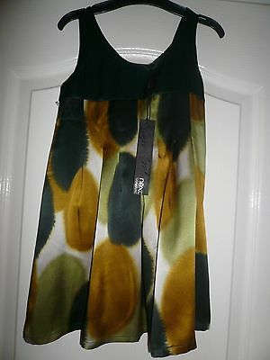 BNWT Next Signature Party Dress ~ Age 4 years/104cm ~ 100% Silk ~ RRP £30