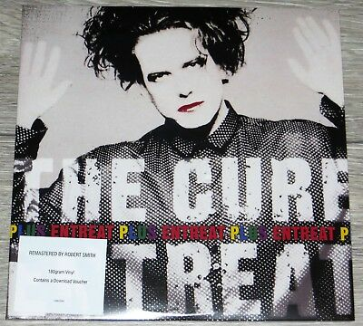 THE CURE - Entreat Plus - Double LP- NEW & SEALED - Remastered by Robert Smith