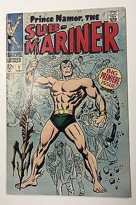 THE SUB MARINER #1 1968 Marvel Comics High Grade Key Silver Age Book