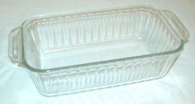 Vintage Pyrex Ovenware Clear Glass 1.5 Qt. Bread Meat Loaf Baking Dish 213-R