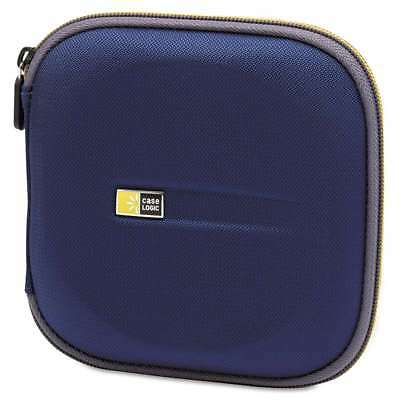 Case Logic® Molded EVA CD/DVD Wallet, Holds 24 Discs, Blue 085854117067