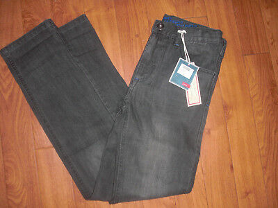 Bnwt Boys Joules Jnr Ted Grey Straight Leg Denim Jeans Age 9-10 Yrs Rrp £30.95