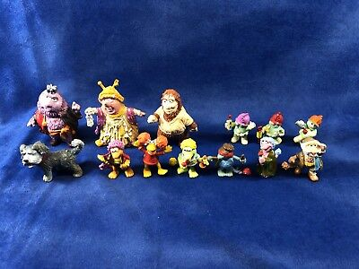 Fraggle Rock PVC figure Collection Matt & Sprocket Included!!!