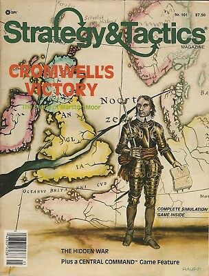 Strategy & Tactics S&T#101 Cromwell's Victory - English Civil War  Unpunched FS
