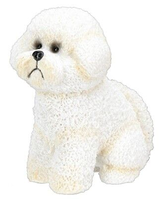 """Bichon Frise Figurine 3.5"""" - New In Box - World Of Dogs   - Free Shipping"""