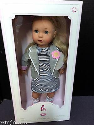 Pottery Barn Kids EMMA GOTZ Doll Toy BLONDE FAIR Skin Valentine Easter GIFT NEW