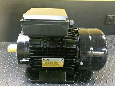 3HP 2.2kW 2800 RPM 240 Volt Foot/B14A Flange Mount Electric Motor with 1.2M Lead