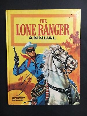 THE LONE RANGER ANNUAL FROM 1960's 93 PAGES