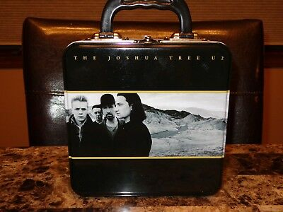 U2 RARE Lunch Box Stash The Joshua Tree Bono The Edge Larry Mullen Adam Clayton