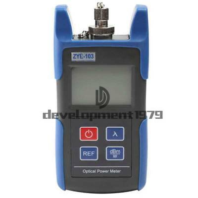 NEW ZYE-103 Mini Handheld Optical Power Meter With FC SC Connector -70~+10dBm