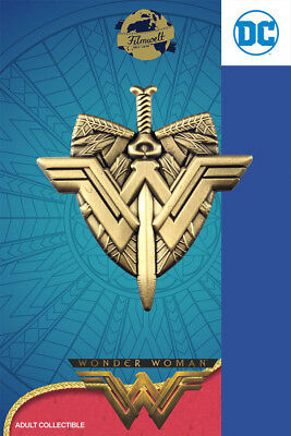 Wonder Woman Schwert Schild - exklusive Sammler Collectors Pin Metall - DC Comic