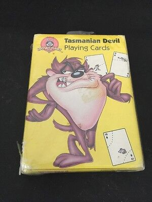 Looney Tunes Tasmanian Devil Bicycle Playing Cards 1999 Taz NEW SEALED