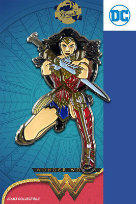 Wonder Woman kniend - exklusiver Sammler Collectors Pin Metall - DC Comics