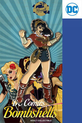 Wonder Woman Bombshells - exklusiver Sammler Collectors Pin Metall - DC Comics