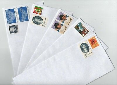 600 PRE STAMPED.50 cent VINTAGE POSTAGE #10 PULL& SEAL PRIVACY TINT ENVELOPES