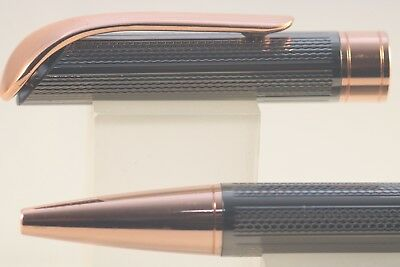 JINHAO #155 GOLD PLATED CHISELLED OFFICE BALLPOINT PEN GT G2 INK UK SOLD!