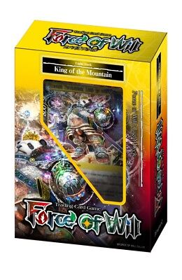Force of Will CCG 51-Card Light Deck - King of the Mountain YCW523652-S