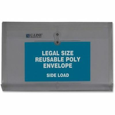 C-Line Reusable Legal Poly Envelope with String Closure 58041