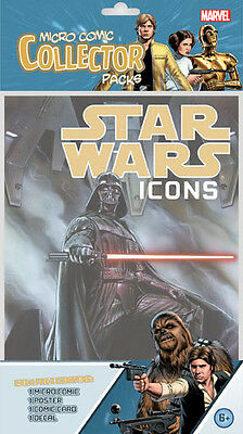 Star Wars Icons Micro Comic Factory Sealed Pack