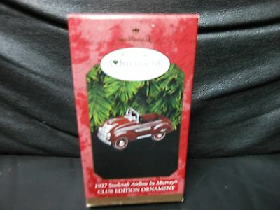 "Hallmark Keepsake ""1937 Steelcraft Airflow By Murray"" 1997 Metal Ornament NEW"