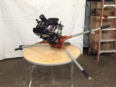 General Post Hole Auger 2 Man Honda Gas Powered Earth Digger Fence Borer