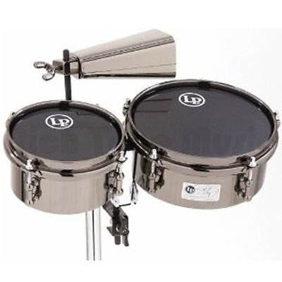 Latin Percussion 845-JD John Dolmayan Mini Timbales with Cowbell and Mount Pack